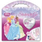 Disney Princess Stickers Set 3 Stickers