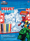 Marvel Heroes Velvet Frames Craft Supplies