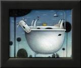 Heaven is a Hot Bath Prints by Rob Scotton