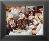 The Luncheon of the Boating Party, c.1881 Psters por Pierre-Auguste Renoir