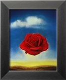 Rose m&#233;ditative Affiche par Salvador Dal&#237;