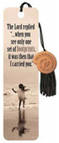 Contemporary Footprints Beaded Bookmark Bookmark