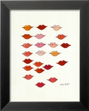 Lips Prints by Andy Warhol