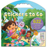 Dora the Explorer TV Stickers Set 3 Stickers
