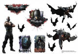 Batman The Dark Knight Rises Mini Foldover Stickers Stickers