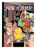 The New Yorker Cover - June 4, 2012 Regular Giclee Print by Dan Clowes