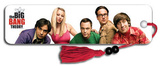 Big Bang Theory Group TV Collector's Beaded Bookmark Bookmark