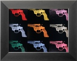 Gun, c.1982 Print by Andy Warhol