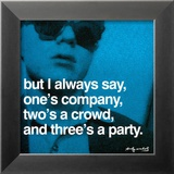 Three's a Party Posters by Andy Warhol