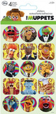 The Muppets Stickers 4 Sheets Stickers