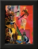 The Blues Posters by Romare Bearden