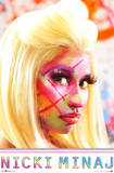 Nicki Minaj - Face Paint Prints
