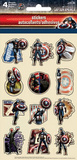 Captain America Comic Stickers Stickers