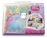 Disney Princess Stickers Set 4 Stickers