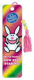 It's Happy Bunny Ok I'm Perfect Now Stop Staring Beaded Bookmark Bookmark
