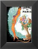 Josephine Baker: Casino De Paris Poster tekijn Zig (Louis Gaudin)