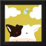 Kuckuck III – hier ist die Kuh|Peek-a-Boo III, Cow Poster von Yuko Lau