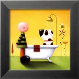 Hora del baño Pósters por Jo Parry