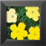 Flowers, c.1970 (Yellow) Poster von Andy Warhol
