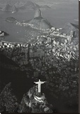 Rio-Cristo Redentor III Stretched Canvas Print