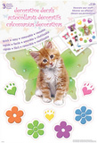 Keith Kimberlin Kittens Decorative Decals Stickers