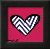 Zig Zag Love Prints by Romero Britto