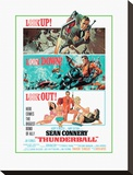 Thunderball-Look out Stretched Canvas Print