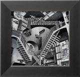 Relativité Affiches par M. C. Escher