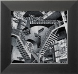 Relativitet Affischer av M. C. Escher