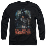 Long Sleeve: The Dark Knight Rises - Rise From the Darkness T-Shirt