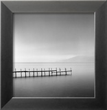 Foggy Morning, Shikotsu Lake, Hokkaido, Japan, 2004 Poster von Michael Kenna