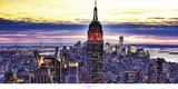 Manhattan Sunset Prints by Philip Plisson