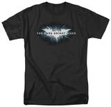 The Dark Knight Rises - Cracked Bat Logo T-shirts