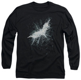 Long Sleeve: The Dark Knight Rises - Teaser Poster T-shirts
