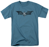 The Dark Knight Rises - Cracked Glass Logo T-shirts