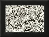 Nr 14, grå Affischer av Jackson Pollock