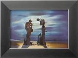 Arkeologisk erindring av Millet Angelus, 1935 Kunst av Salvador Dalí