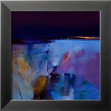 Blue Horizon Print van Peter Wileman