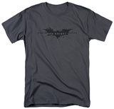 The Dark Knight Rises - Scratched Logo T-shirts