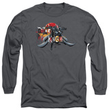 Long Sleeve: The Dark Knight Rises - Gothic Knight T-shirts