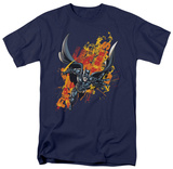 The Dark Knight Rises - The Fire Rises Shirts