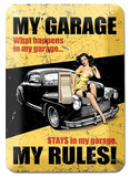 My Garage My Rules -  Light Switch Plate Light Switch Plate