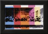 La Cène (détail)|Detail of the Last Supper, vers 1986 Affiches par Andy Warhol