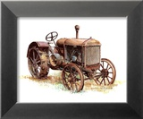 Early Model Mccormick-Deering Tractor Posters by Sharon Pedersen