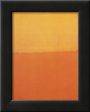 Orange and Yellow Poster by Mark Rothko