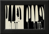 Knives, c.1982 (Cream and Black) Prints by Andy Warhol