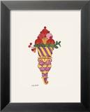 Ice Cream Dessert, c.1959 (Fancy Red) Kunstdrucke von Andy Warhol