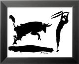 Pablo Picasso - Boğa Güreşi III - Poster
