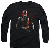 Long Sleeve: The Dark Knight Rises - Batman Battleground T-shirts
