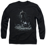 Long Sleeve: The Dark Knight Rises - Bane Poster T-Shirt